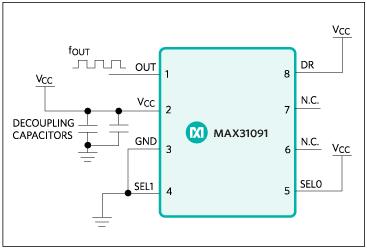 max31091典型电路框图