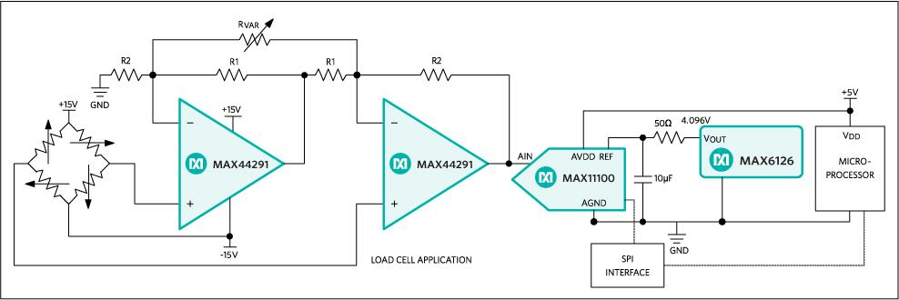 max44291典型电路框图